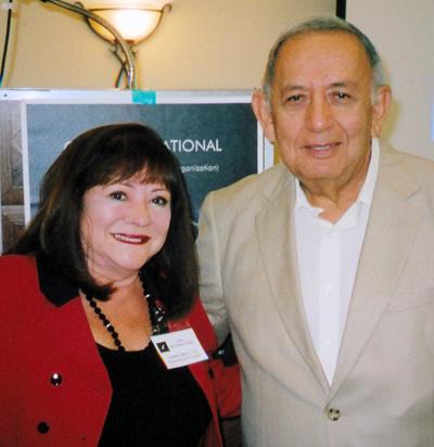 Yvonne Smith and Robert Salas