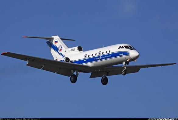 Yakovlev Yak-40 landing in moscow, Russia. (Credit: Eddie Heisterkamp/Airliners.net)