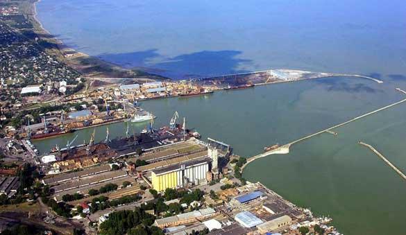 The port at Yeisk. (Credit: Fenol/Skyscrapercity.com)