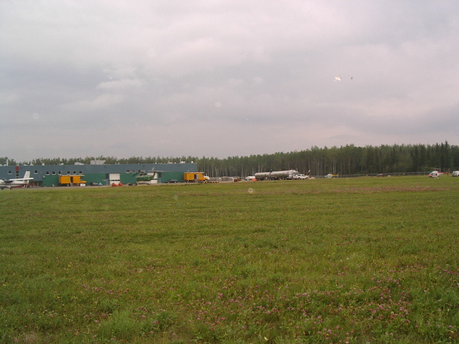 Alberta airport UFOs
