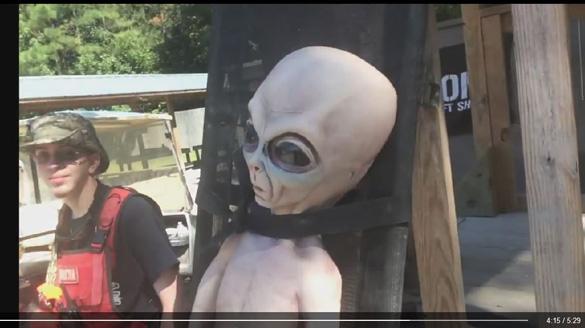 Alien at Ballahack Airsoft. (Credit: Ballahack Airsoft)