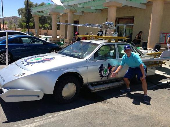 One of Alien Fresh Jerky's alien automobiles. (Credit: HanKelly/TripAdvisor)
