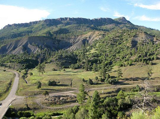 Archuleta Mesa – sight of the alleged Dulce underground base