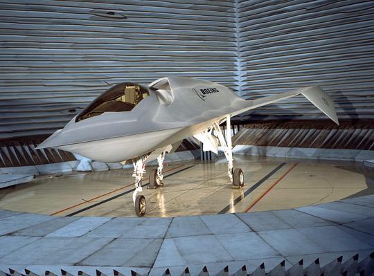 "Boeing's ""Bird of Prey"" technology demonstrator. (image credit: Boeing)"