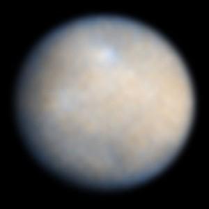 The dwarf planet Ceres. (Credit: NASA/ESA)