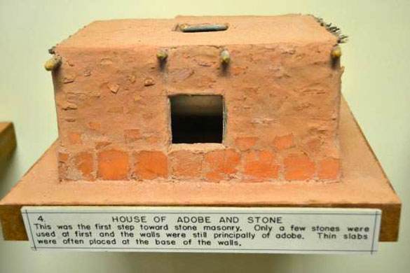 Display with similar placard as seen in the Roswell Slides at Chapin Mesa Archeological Museum, Mesa Verde National Park, CO. (Credit: TripAdvisor)