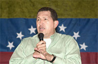 Venezuelan president Hugo Chavez (credit: Agência Brasil/Wikimedia Commons)