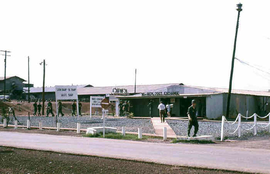 View of the U.S. Marine Short Airfield for Tactical Support (SATS) at Chu Lai, Vietnam, in 1965. (image credit: U.S. Navy National Museum of Naval Aviation)