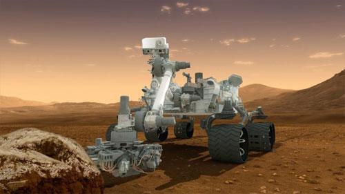 Curiosity's Sample Analysis at Mars (SAM) instrument. (Credit: NASA/JPL-Caltech)