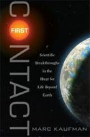 """Book cover of """"First Contact"""" (credit: Simon & Schuster)"""