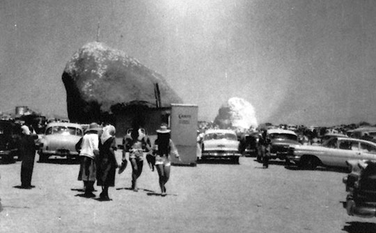 Giant Rock convention in the 1950s.