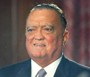 J. Edgar Hoover. America's #1 law man, and the recipient of the January 31, 1949 FBI memo on UFOs. (image credit: AP)