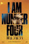 Poster for I Am Number Four (credit: DreamWorks)
