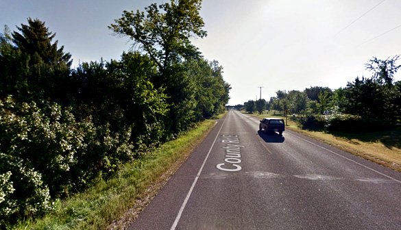 The witness was driving along Cameron Street approaching the Kane Road intersection, pictured, when the incident occurred. (Credit: Google)