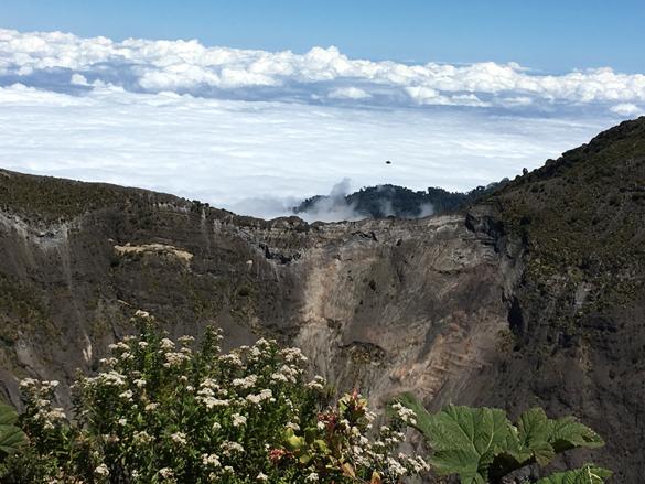 Witness image captured over Irazú Volcano National Park in Costa Rica. (Credit: MUFON)