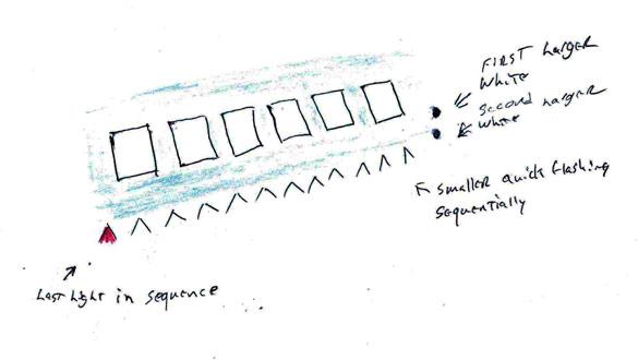 Witness illustration. (Credit: MUFON)