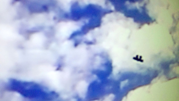 Still frame from the video provided by the witness. (Credit: MUFON)
