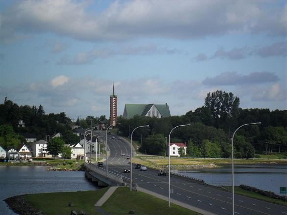 Bathurst, New Brunswick, Canada. (Credit: Wikimedia Commons)