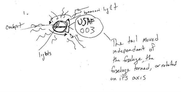 Witness illustration 1. (Credit: MUFON)