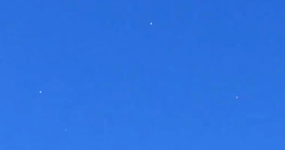 Image from witness video was cropped and enlarged. (Credit: MUFON)