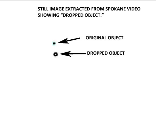 Illustration of the two objects. (Credit: MUFON)