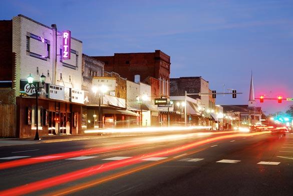 Downtown, Malvern, Arkansas. (Credit: Wikimedia Commons)