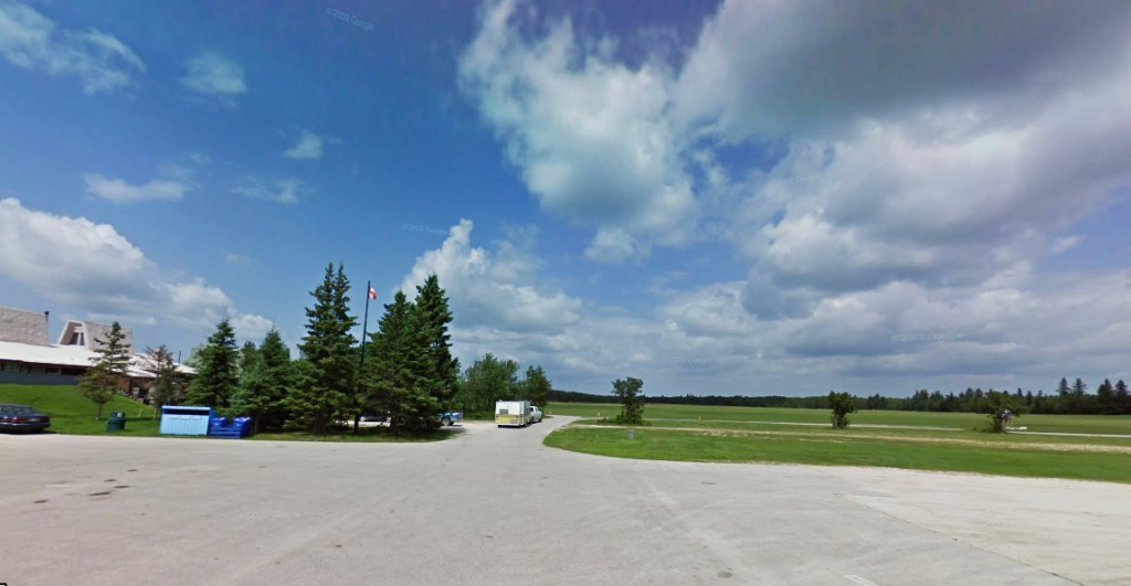 The witness later recalled a 'small hooded figure at the end of my campsite.' Pictured: Birds Hill. (Credit: Google)
