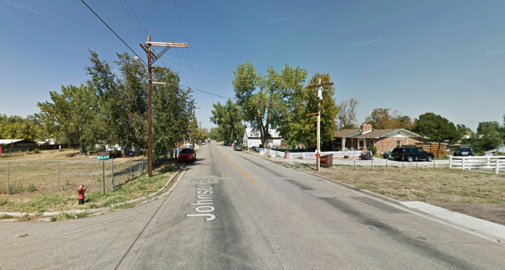The object was silent and only seen for about 20 seconds. Pictured: Frederick, CO. (Credit: Google)