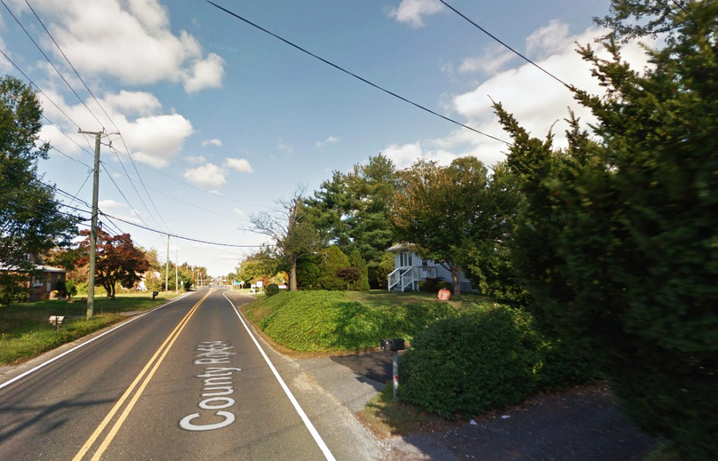 The witness is certain – based on size – that the object was not a Chinese lantern. . Pictured: Washington Township. (Credit: Google)