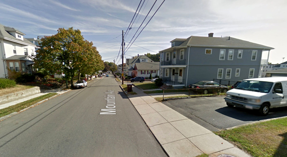 The fast moving object did not allow the witness to capture a photograph or video. Pictured: Revere, MA. (Credit: Google)