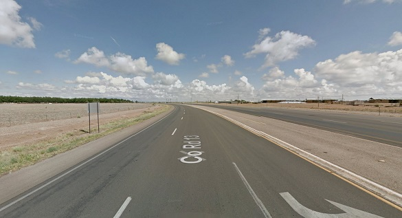 The witness stopped in Roswell as part of a trip between Albuquerque and Carlsbad. (Credit: Google)