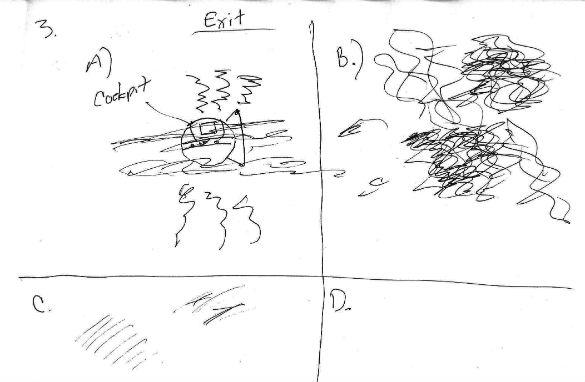 Witness illustration 3. (Credit: MUFON)