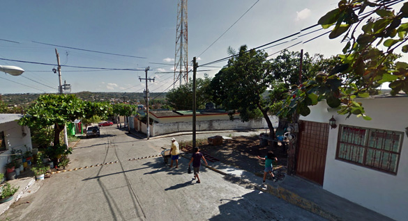 A motorist found the man lying along the side of the road with a head injury. Pictured: Paso de Ovejas. (Credit: Google Maps)