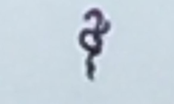 Cropped and enlarged version of the witness image 3. (Credit: MUFON)