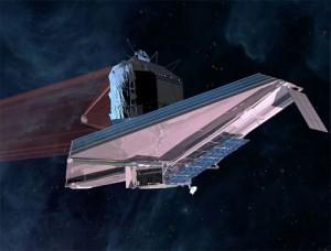 Artist's concept of the JWST. (Credit: NASA)