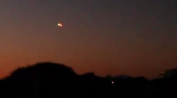 UFO over La Serena