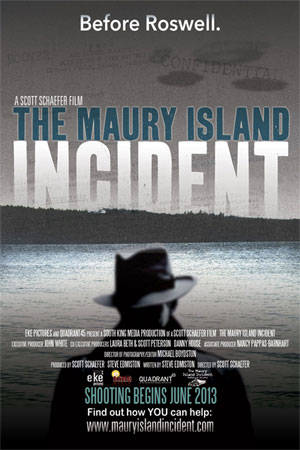 The Maury Island Incident poster. (Credit: South King Media)