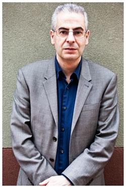 Nick Pope, former MOD UFO investigator, at the International UFO Congress. (Credit: Peter Beste/Open Minds)