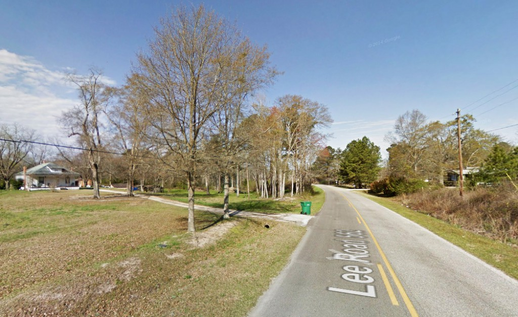 The witness was so terrified by the events from 1999, that he kept the account to himself and just recently reported the incident to MUFON. Pictured: Lee County, Alabama. (Credit: Google)