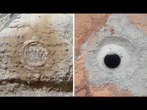 Mars Curiosity Drill