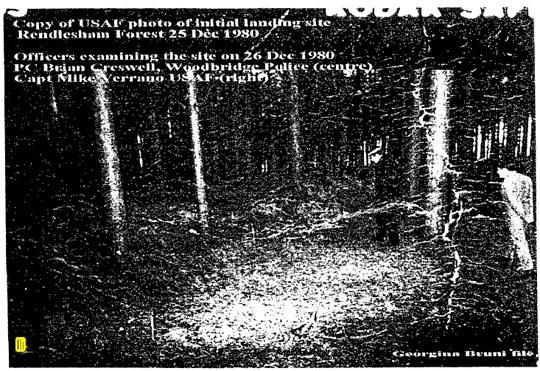 Rendlesham UFO Landing