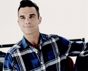 Singer Robbie Williams. (Credit: RobbieWilliams.com)