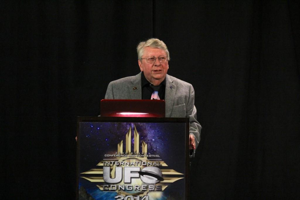 Richard Hoover 2014 UFO Congress