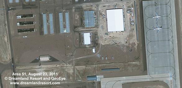Area 51 Satellite Image