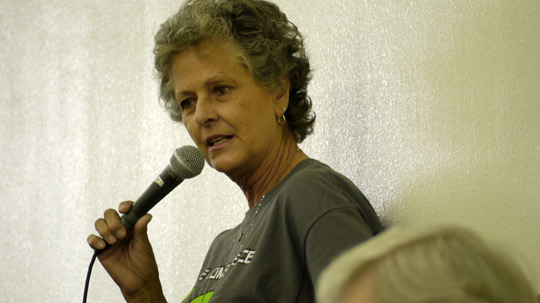 Julie Shuster, Director of the Roswell UFO Museum. (image credit: Alejandro Rojas)