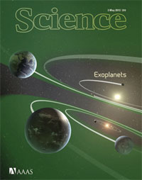 Cover of the special Exoplanets issue of Science. (Credit: Science)