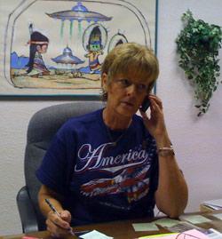 Julie Shuster, Roswell Museum Director