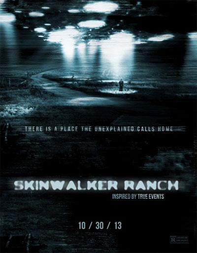 Theatrical poster for Skinwalker Ranch. (Credit: Deep Studios)
