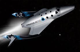 Virgin Galactic's SpaceShipTwo (credit: Virgin Galactic)