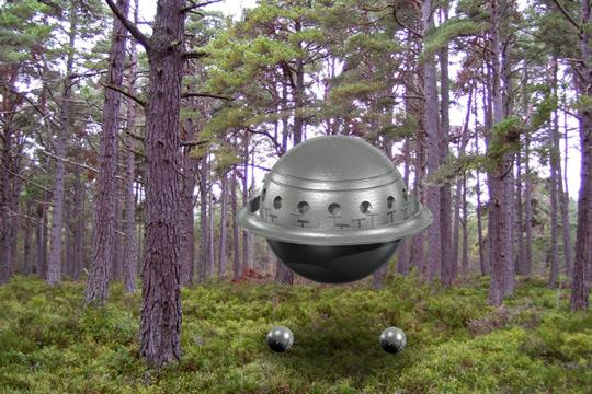 Scottish Sphere UFO